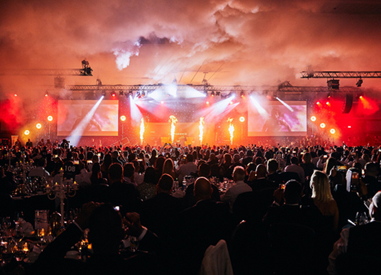 Event lighting effects hire
