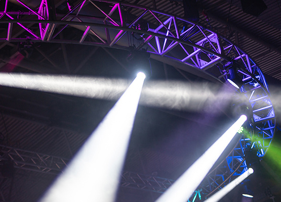 Staging and truss equipment hire